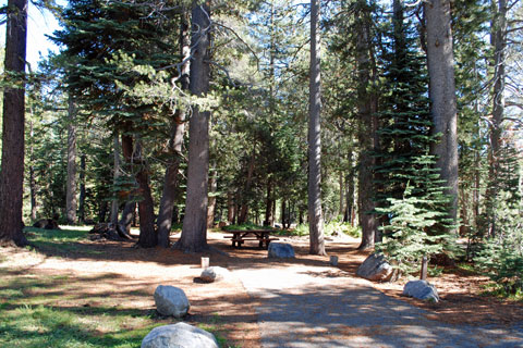 Lake Alpine Campground - Stanislaus National Forest - California's