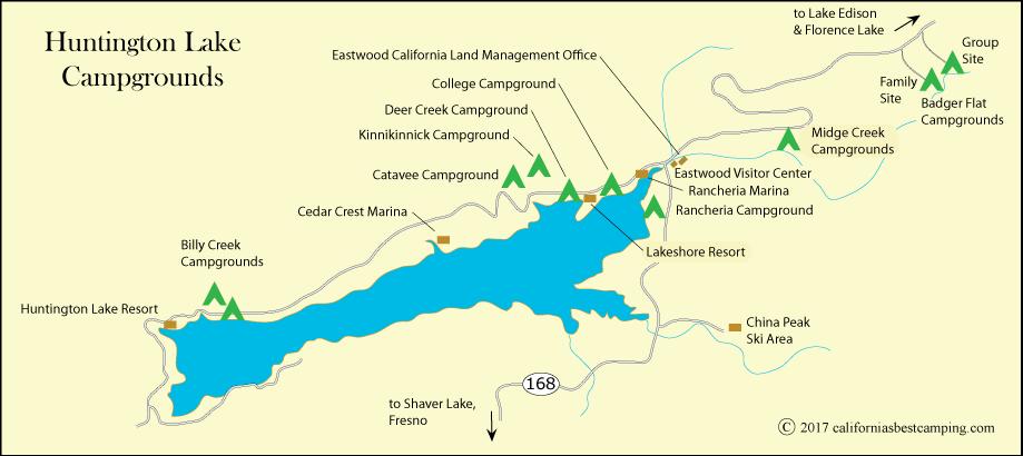 College Campground - Huntington Lake on