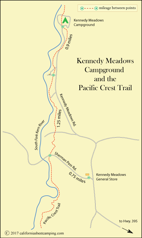 Kennedy Meadows Campground - Inyo National Forest on