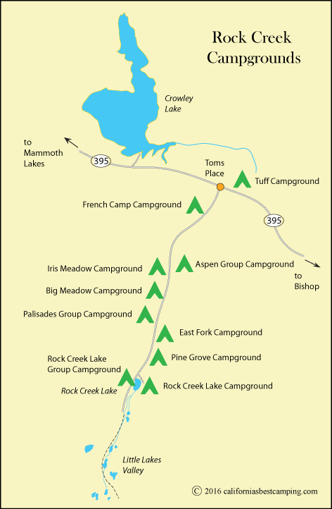 French Camp Campground - Inyo National Forest