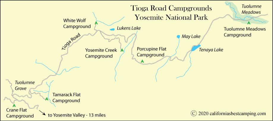 Tuolumne Meadows Campground - Yosemite National Park on san diego sights, washington sights, los angeles sights,
