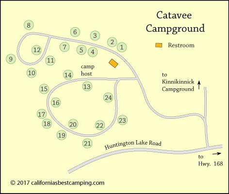 Catavee Campground Huntington Lake