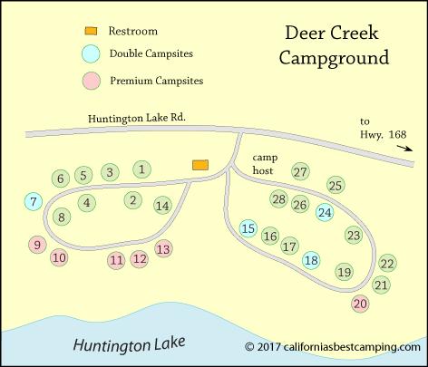 Deer Creek Campground Huntington Lake