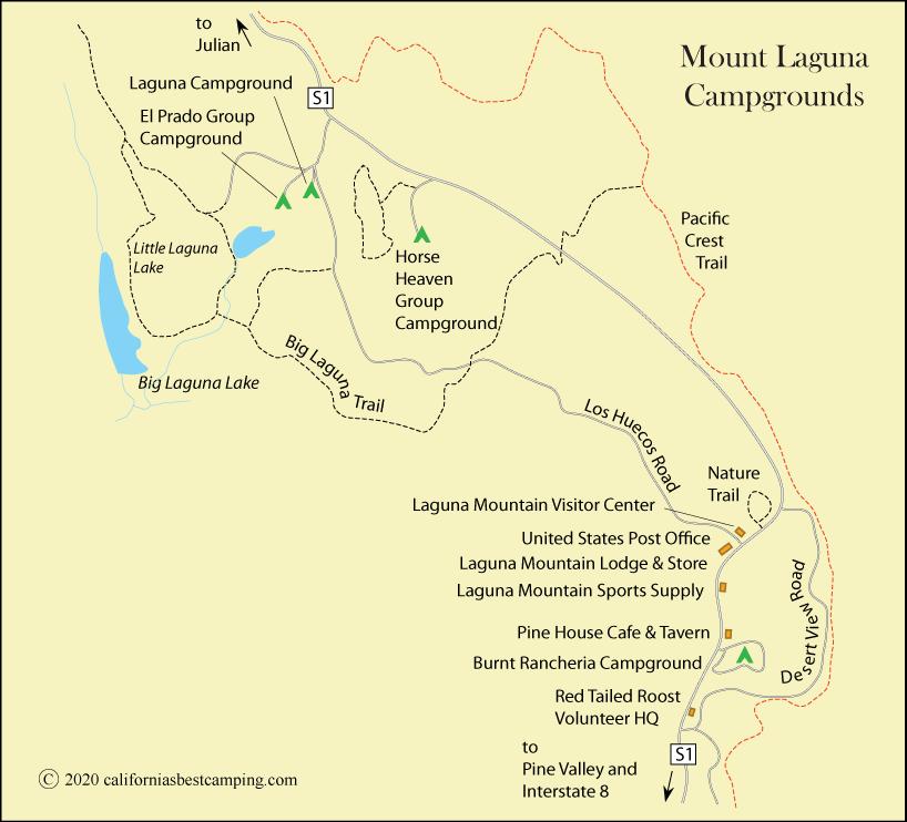Laguna Campground - Cleveland National Forest
