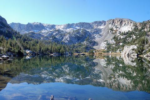 Crystal Lake, Mammoth Lakes, CA