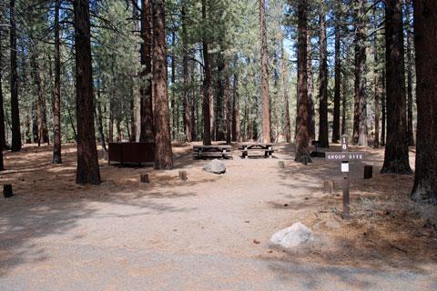 Pine Glen Group Campground, Mammoth Lakes, CA