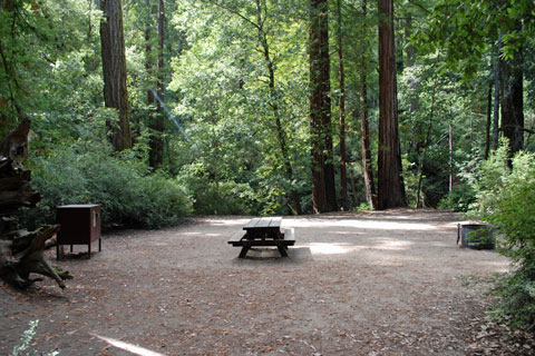 Sempervirens Campground Big Basin Redwoods State Park