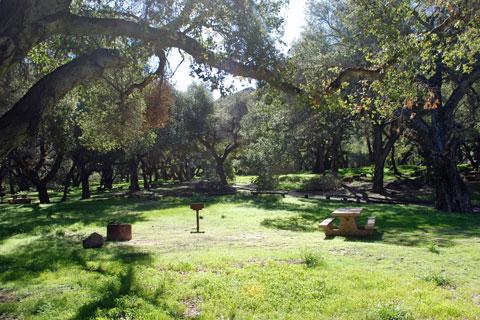 Los Prietos Campground - Los Padres National Forest