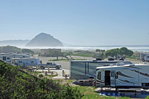 Morro Strand State Beach Camping Map