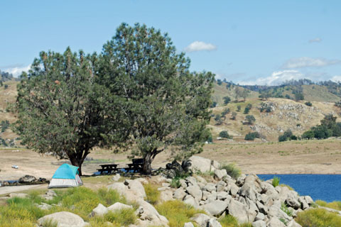 North shore campgrounds millerton lake for Millerton lake fishing