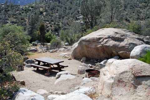Goldledge Campground - Kern River, Sequoia National Forest