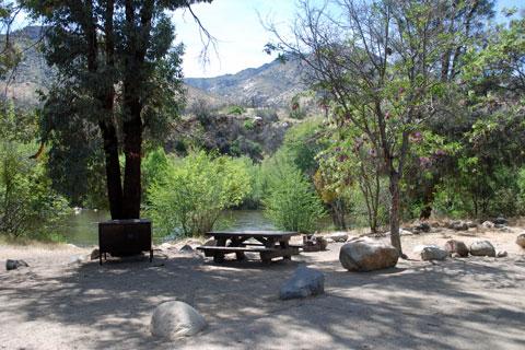 Headquarters Campground, Kern River, CA