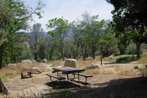 Live Oak Campground Lake Isabella Sequoia National Forest