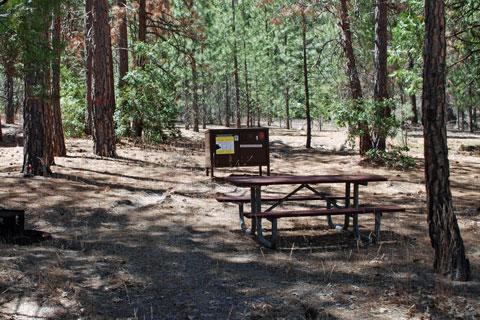 Moraine Campground - Cedar Grove, Kings Canyon National Park