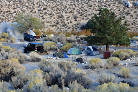 Lone Pine Campground Inyo National Forest