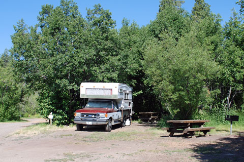Lake Forest Campground At North Lake Tahoe