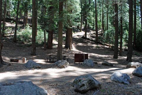 Jones Fork Campground Union Valley Reservoir