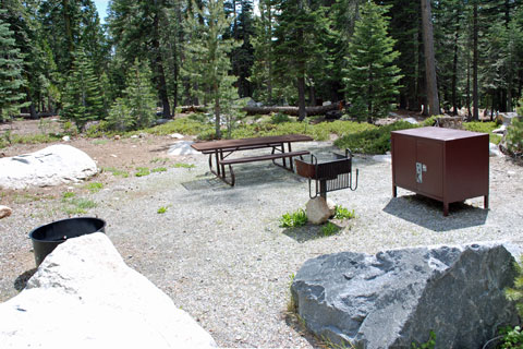 Loon lake campground eldorado national forest for Union valley reservoir fishing