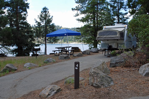 Northwind campground ice house reservoir for Union valley reservoir fishing