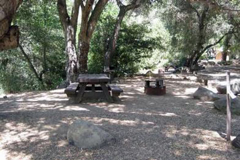 Wheeler Gorge Campground - Los Padres National Forest