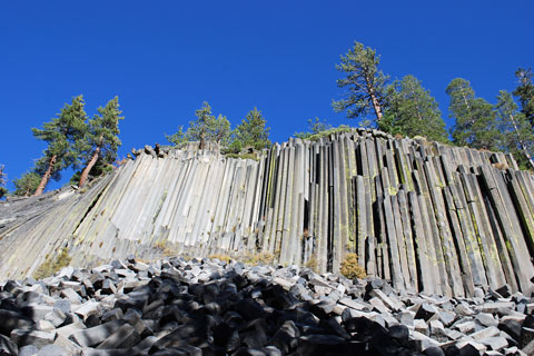 Devils Postpile National Monument, Reds Meadow, CA