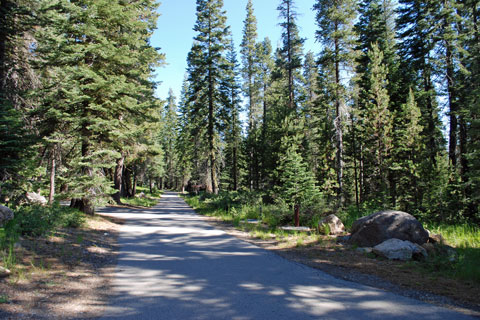 Findley Campground at Jackson Meadows Reservoir