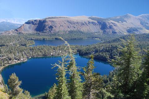 Lake George and Lake Mary, Mammoth Lakes, CA