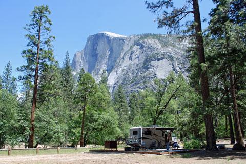 Lower Pines Campground Yosemite National Park