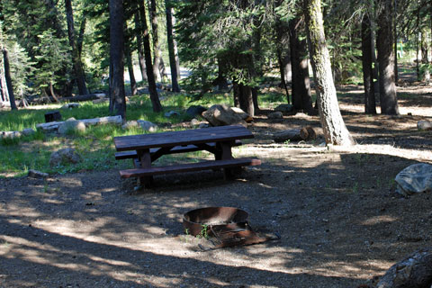 Woodcamp Campground at Jackson Meadows Reservoir