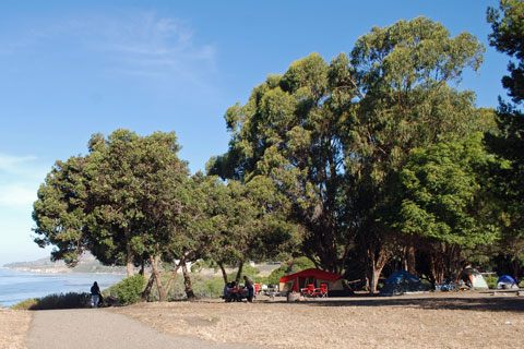 El Capitan State Beach Camping Showers