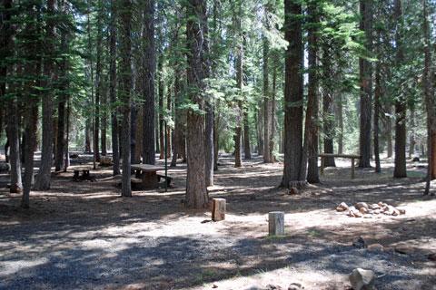 Horse Campground Little Grass Valley Reservoir