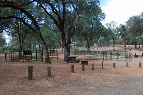 Loafer Creek Equestrian Campground, Lake Oroville, CA