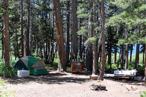 Upper Blue Lake Dam Site Campground - Carson Pass