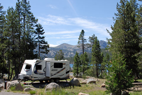 Caples lake campground carson pass for Kirkwood elevation