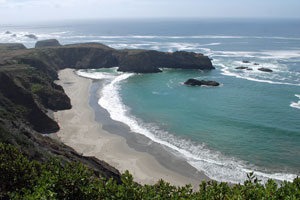 Mendocino coast,  Northern California campgrounds