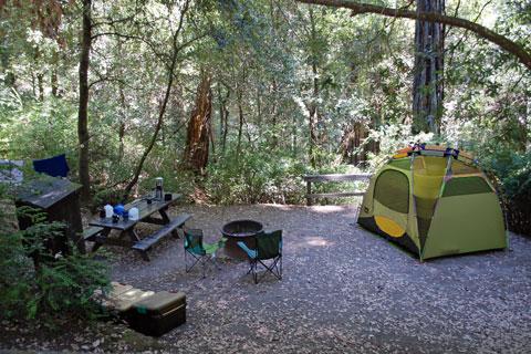 Hidden Springs Campground Humboldt Redwoods State Park