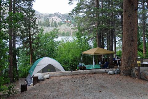 Gull Lake Campground June Lake Loop