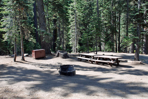 Hutchins Group Campground Plumas National Forest