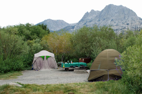 Silver Lake Campground, June Lake Loop, CA
