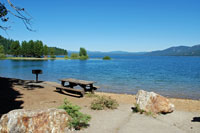 Lake Almanor,  Northern California campgrounds