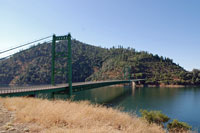 Lake Oroville,  Northern California campgrounds