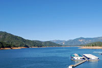 Shasta Lake,  Northern California campgrounds