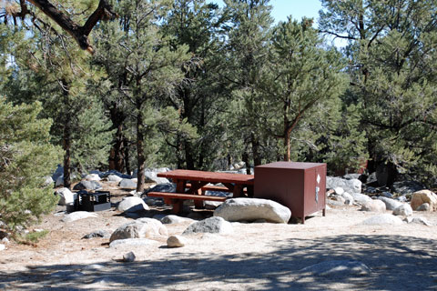 French Camp Campground Inyo National Forest