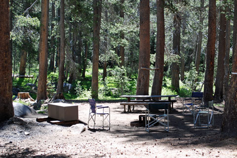 Badger Flat Campgrounds Sierra National Forest