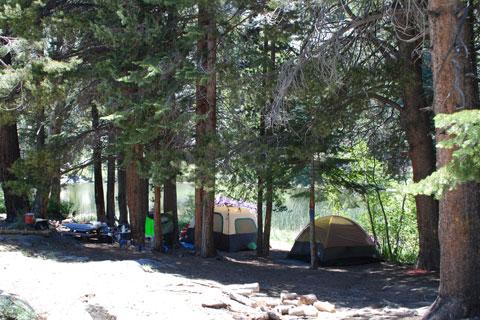 Mono Hot Springs >> Ward Lake Campground - Lake Thomas A. Edison