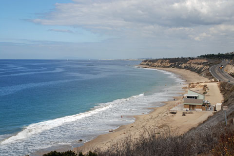 Moro Beach At Crystal Cove State Park Ca
