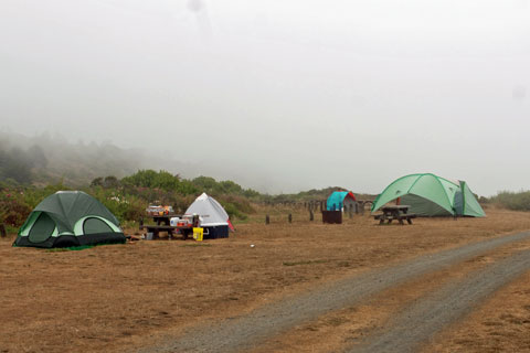 Westport Union Landing State Beach Campground Mendocino County Ca