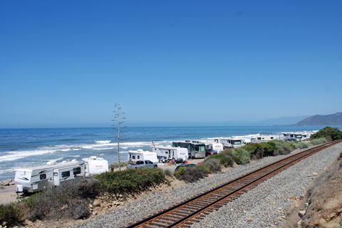 Campsites At Emma Wood State Beach Campground Ventura County Ca
