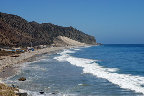 Thornhill Broome Beach At Point Mugu State Park Ca